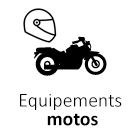 Equipements motos