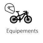 Equipements vélos